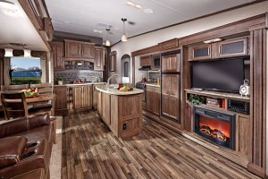interior cougar fifth wheel