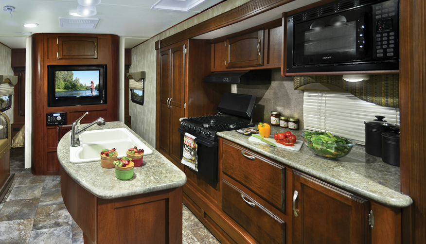 Winnebago Industries Minnie Interior