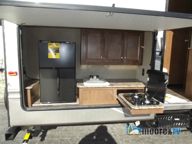 Keystone Hideout Travel Trailer Outdoor Kitchen