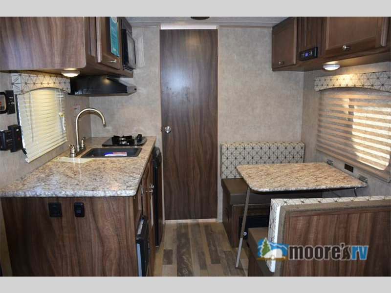 Viking Ultra-lite Travel Trailer Interior