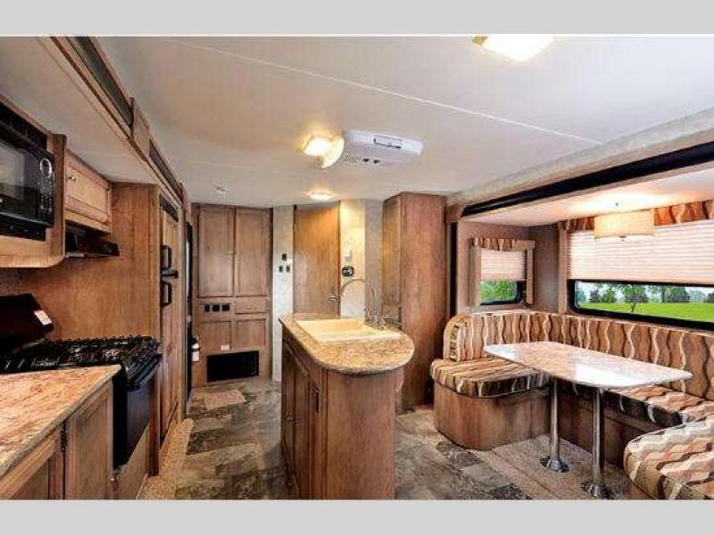 Gulf Stream Gulf Breeze Travel Trailer Interior