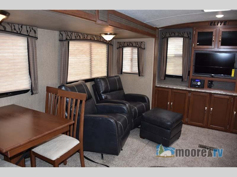 Keystone Passport Travel Trailer Living Room