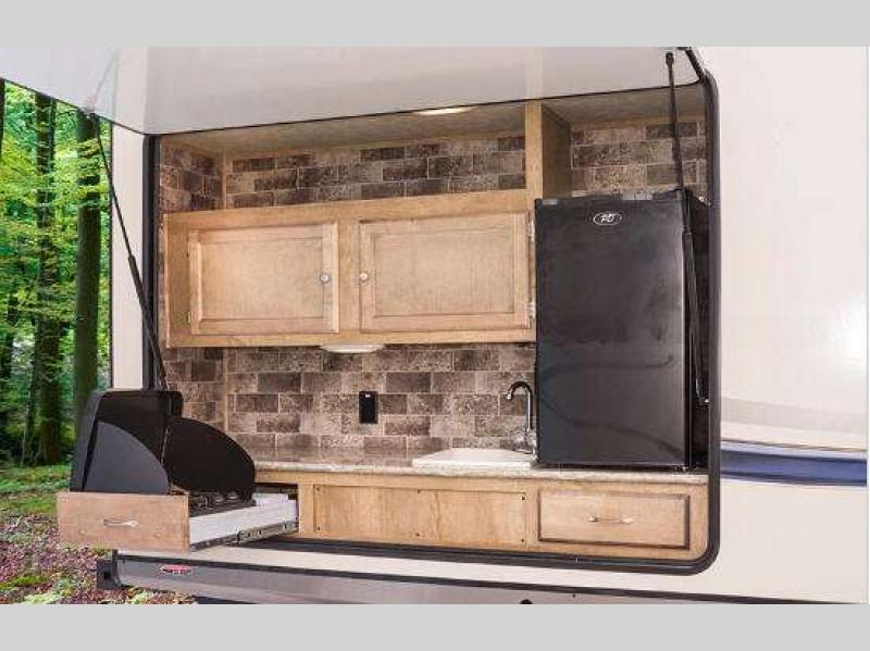 Gulf Stream Gulf Breeze Travel Trailer Kitchen